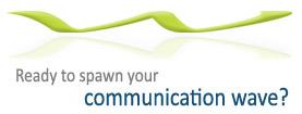 Communication waveSpawn