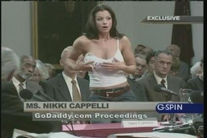 GoDaddy Nikki Cappelli Super Bowl Ad