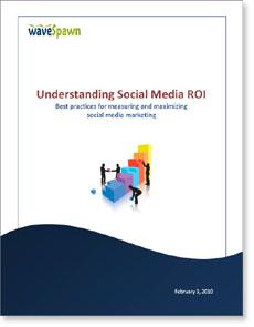 Understanding social media ROI