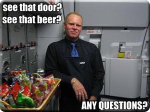 Steven Slater, don't spill that beer