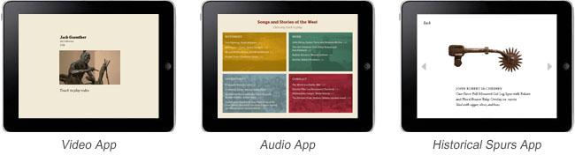 Custom iPad apps